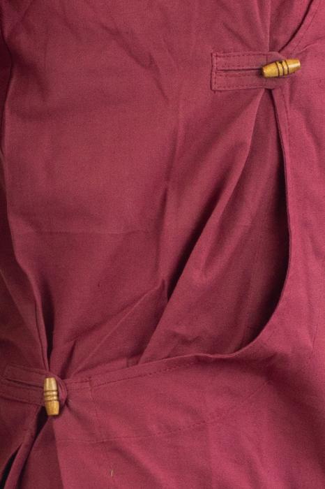 Camasa cu maneca lunga - Side Cut - Visiniu 2