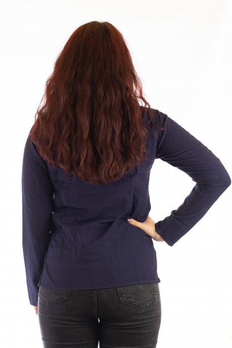 Camasa cu maneca lunga - Navy Blue 2