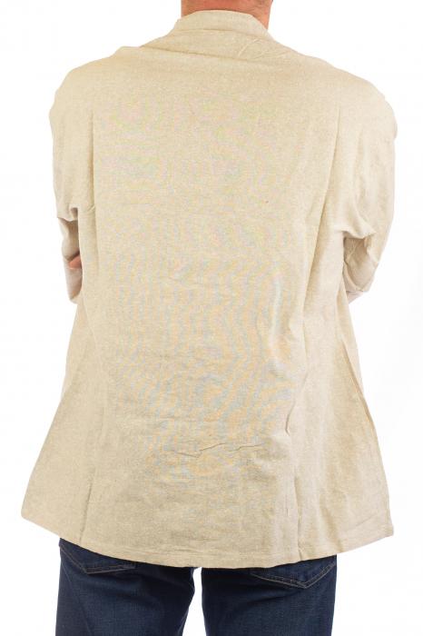 Camasa cu nod chinezesc - Chinese knot shirt - Crem [6]