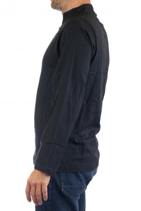 Camasa cu maneca lunga - Side Cut - Neagra [4]