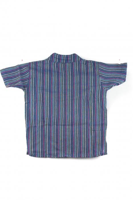 Camasa din bumbac de copii, Mistret marimea S - Maneca scurta unicata M35 1