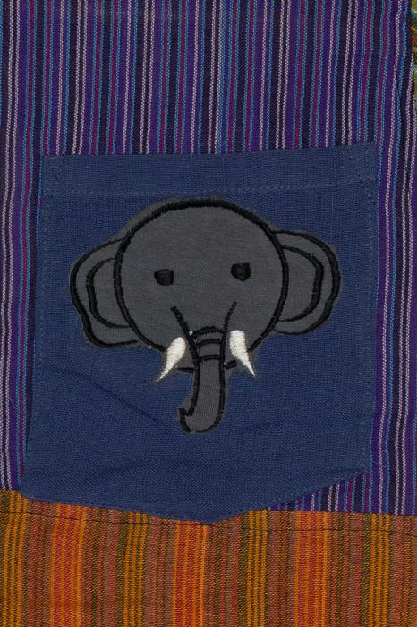 Camasa din bumbac de copii, Elefant marimea XL - maneca scurta unicata M5 [1]