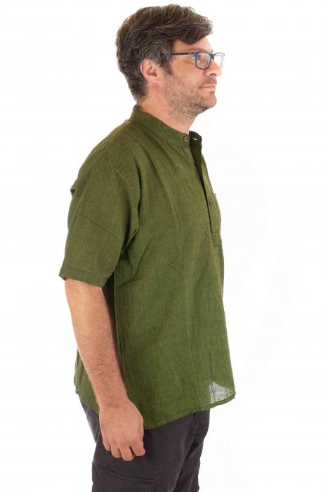 Camasa lejera de vara - Verde [1]