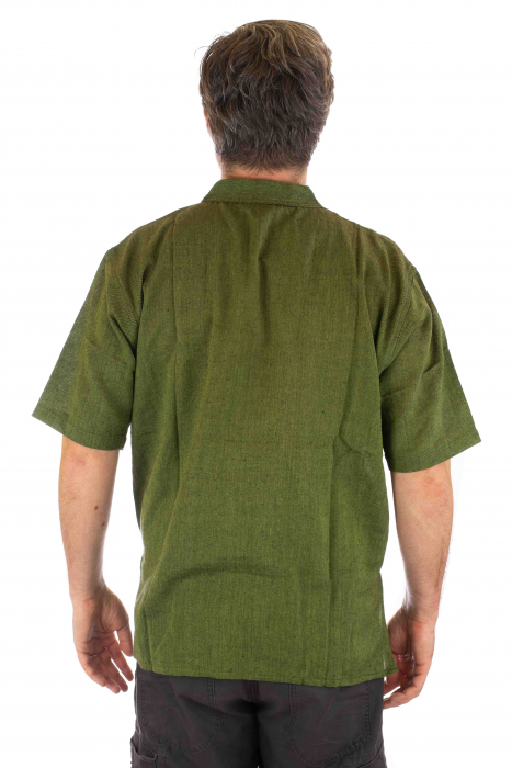 Camasa lejera de vara - Verde [2]