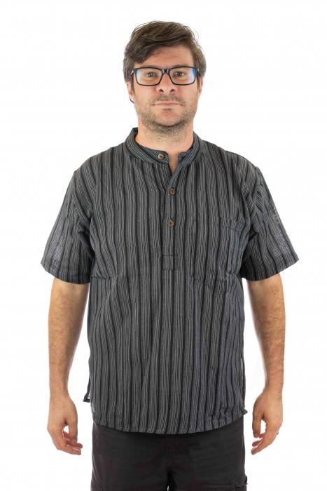 Camasa lejera de vara - Neagra 0