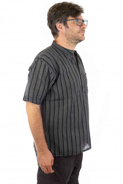 Camasa lejera de vara - Neagra 1