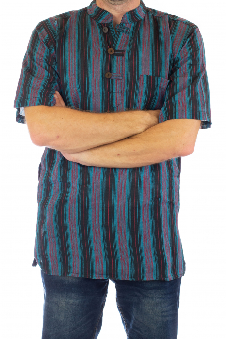 Camasa lejera de vara - Multicolor [1]