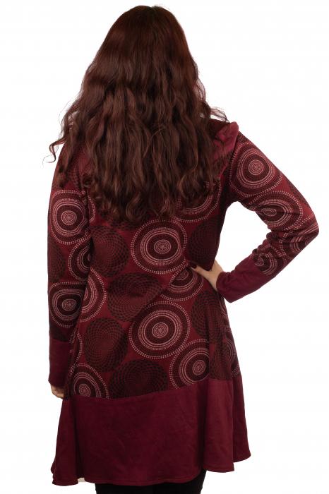 Jacheta femei subtire rosie 2