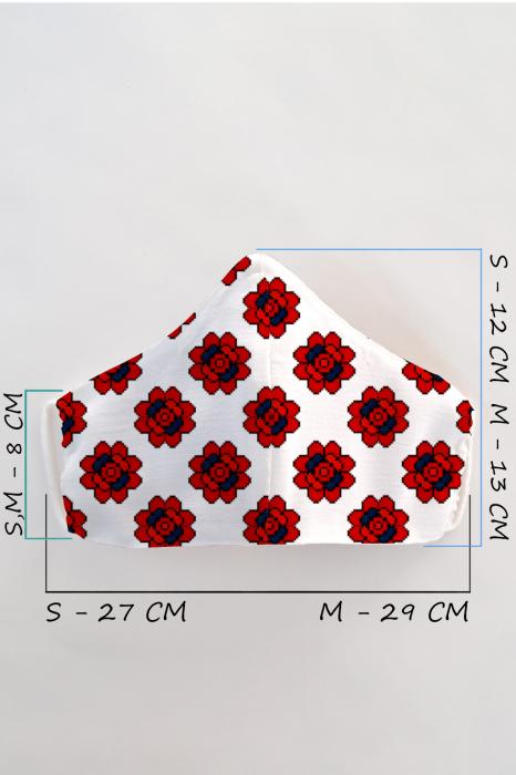 Masca bumbac cu filtru pentru adulti - Motiv 10 1