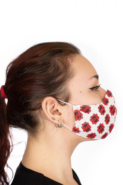 Masca bumbac cu filtru pentru adulti - Motiv 10 3