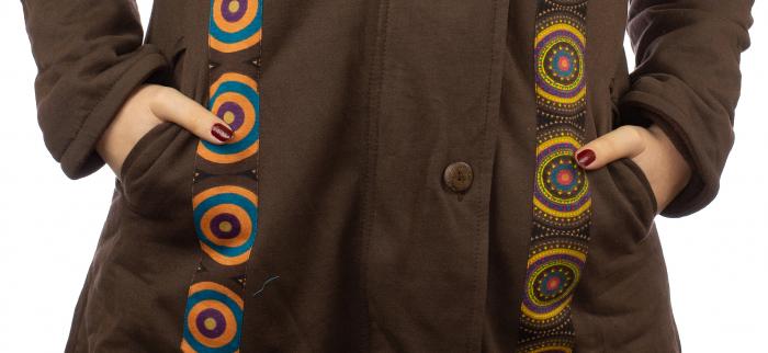 Jacheta femei din bumbac - 70's 3