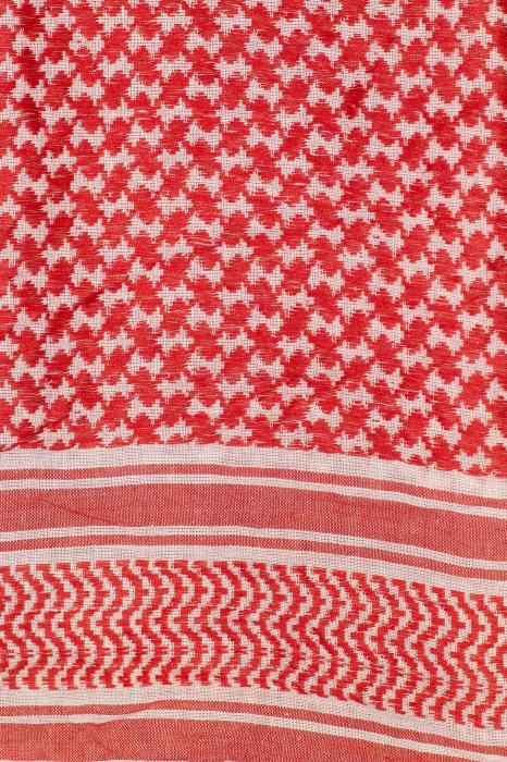 Esarfa Multicolor - Rosu cu alb 1