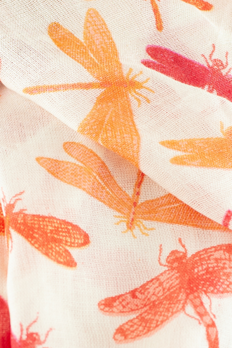 Esarfa subtire colorata - Firefly - Roz 1