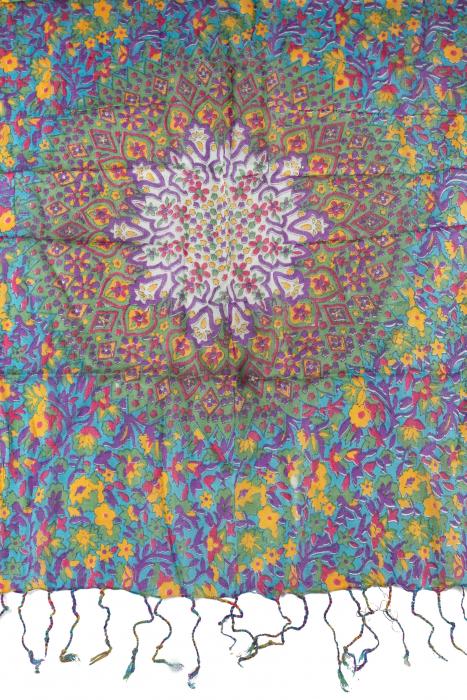 Esarfa subtire colorata - Multicolor 3 1