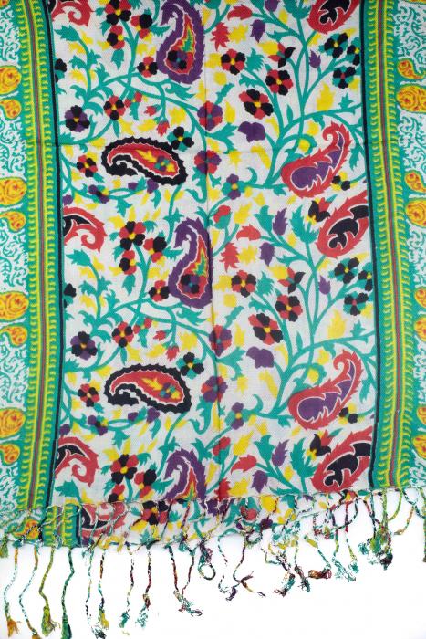 Esarfa subtire colorata - Multicolor 22 1