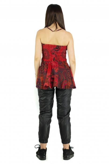 Top dama colorat RFG-517 - Rosu [5]