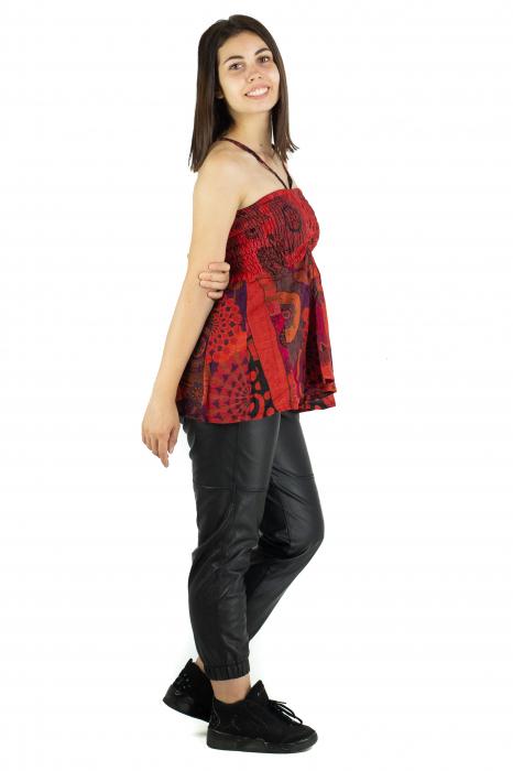 Top dama colorat RFG-517 - Rosu [2]