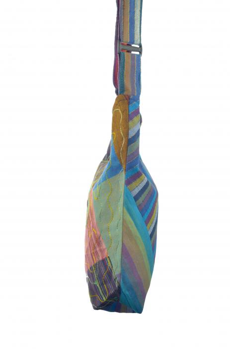 Geanta de umar multicolor - OM - Caro 3