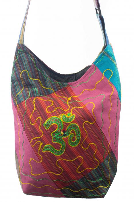 Geanta de umar multicolor - OM - Green 0