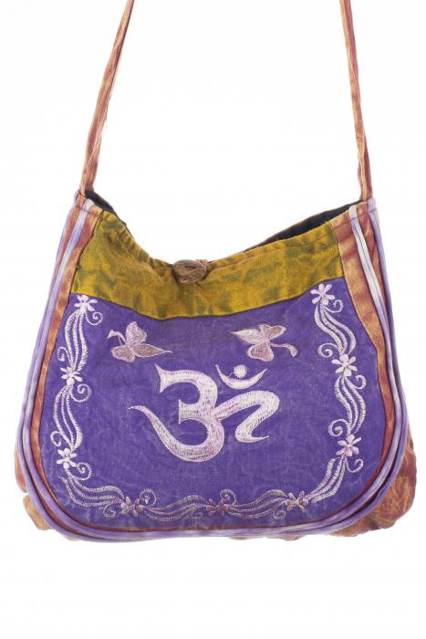 Mini geanta din bumbac - OM 2 0