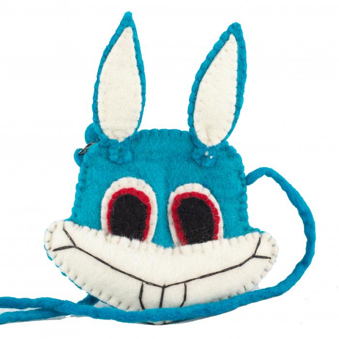 Gentuta de umar din feltru - B.Bunny 0