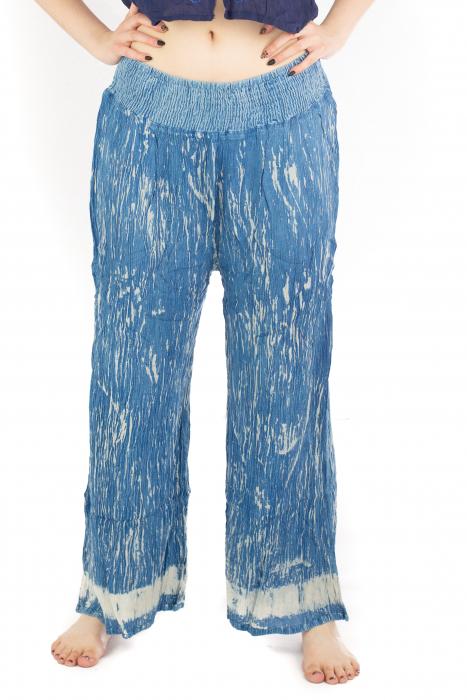 Pantaloni lejeri unicat - Ocean Breeze 0