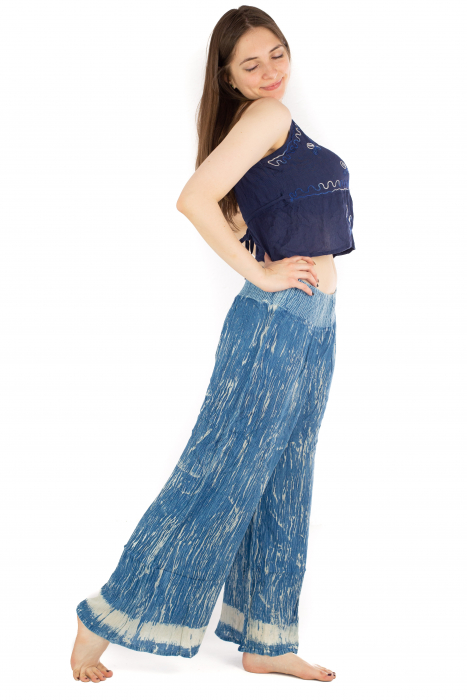 Pantaloni lejeri unicat - Ocean Breeze 2