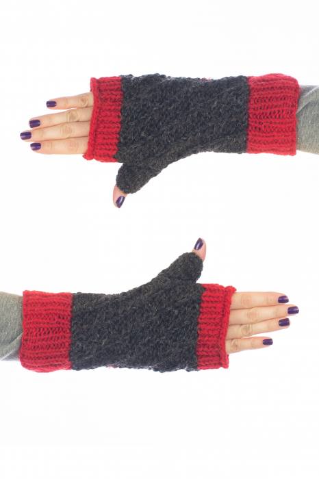 Hand warmers - Red and Grey 1