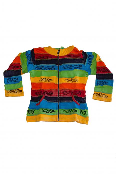 Hanorac copii - Rainbow - BG201 0