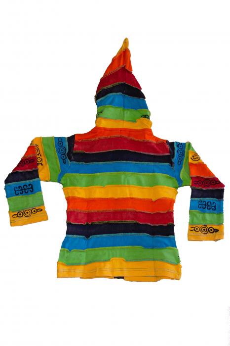 Hanorac copii - Rainbow - BG201 1
