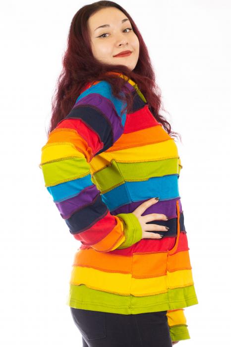 Hanorac din bumbac - Rainbow SHJK20 1