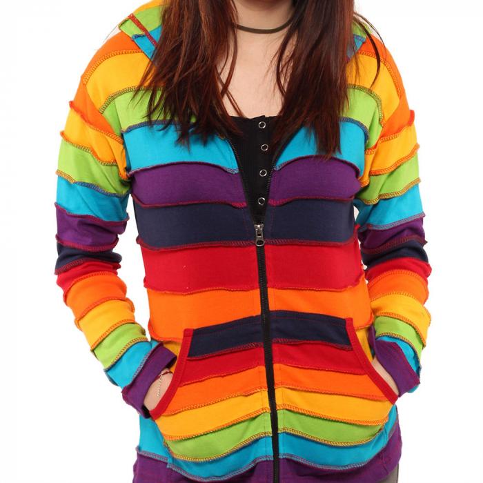 Hanorac din bumbac - Rainbow 1