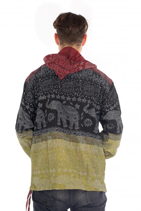 Hanorac lejer - Namaste Elephant - Multicolor [4]