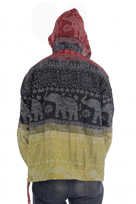 Hanorac lejer - Namaste Elephant - Multicolor [5]