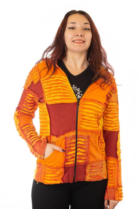 Hanorac portocaliu razor cut 0