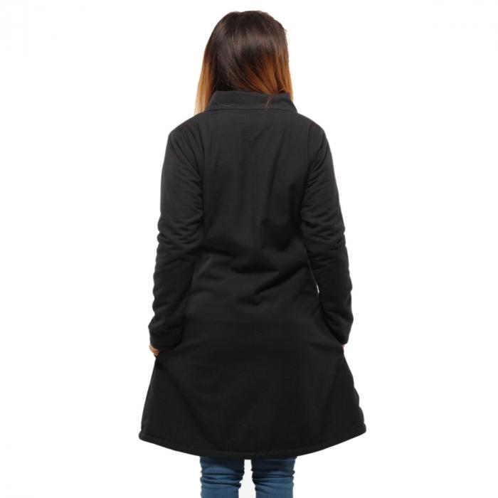 Jacheta de bumbac cu fermoar – SIMETRIE 3