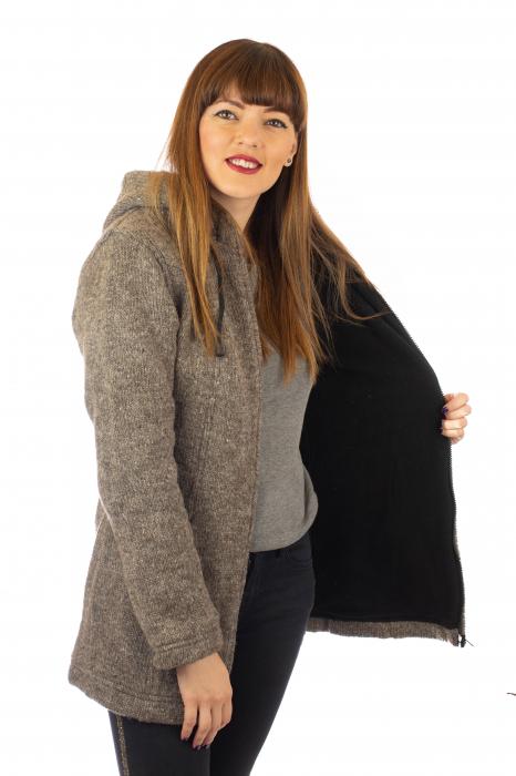 Jacheta de lana - Grey 4