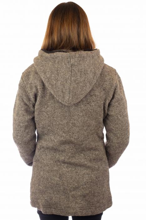 Jacheta de lana - Grey 3
