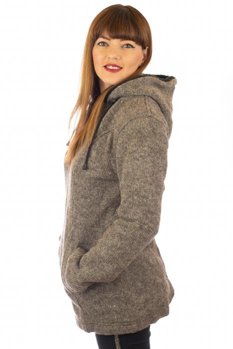 Jacheta de lana - Grey 1