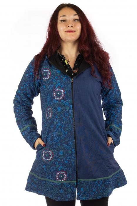 Jacheta de toamna din bumbac - Blue [0]