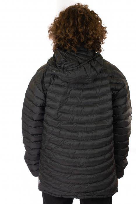 Jacheta scurta cu puf - Negru 3