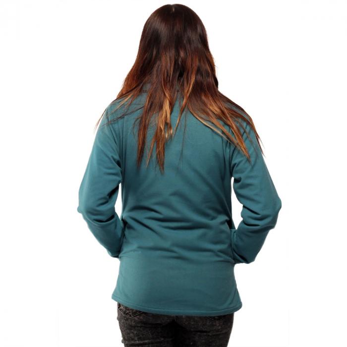 Jacheta scurta din bumbac - ALBASTRU 4