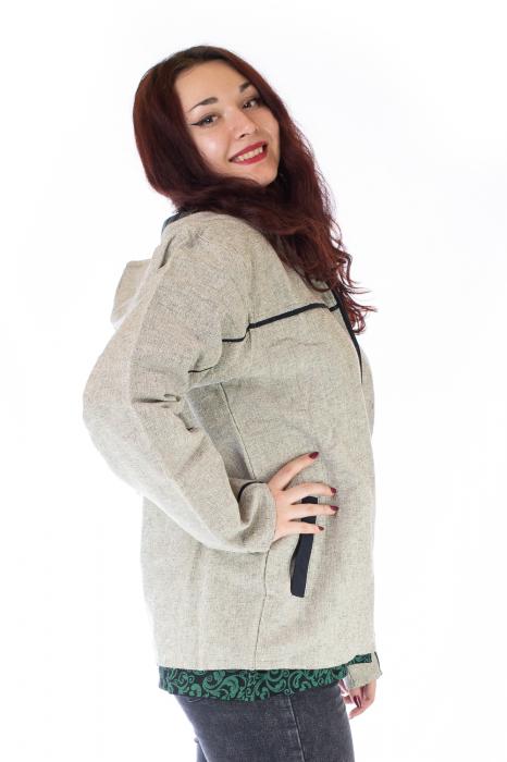Jacheta din bumbac - Gri 1