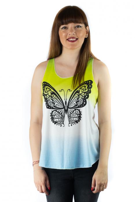 Maiou multicolor subtire de vara - Black Butterfly 0