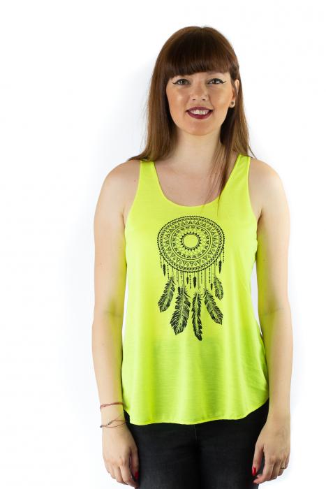 Maiou neon verde subtire de vara - Mandala Catcher 0