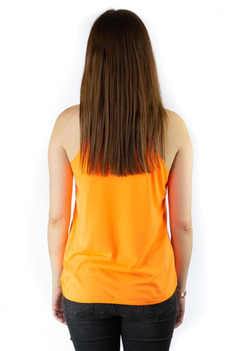 Maiou neon portocaliu subtire de vara - Buck King 2