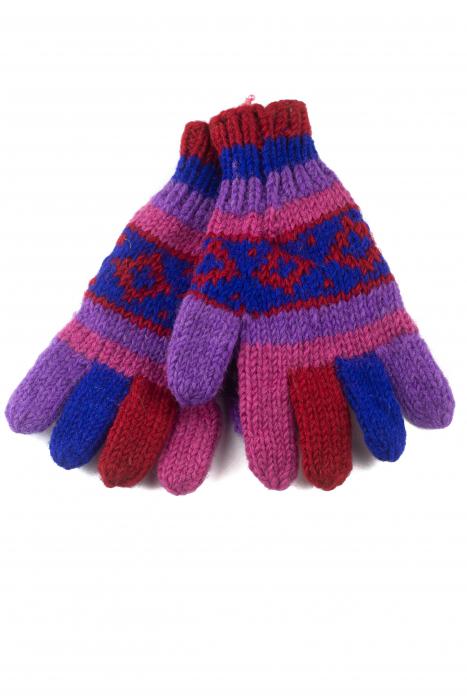Manusi de lana - Color combo 21 0