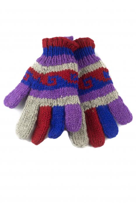 Manusi de lana - Color combo 28 0