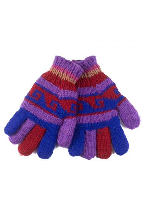 Manusi de lana - Color combo 42 0
