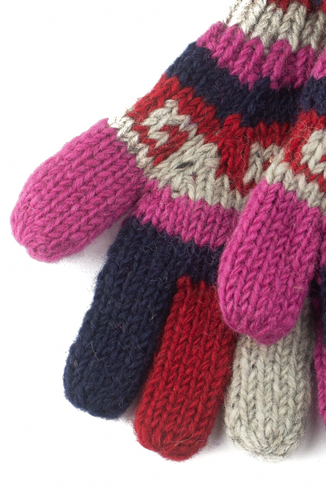 Manusi de lana - Color combo 57 1
